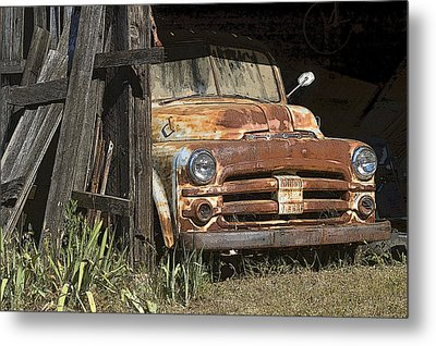 Metal Print featuring the photograph Retired by Sherri Meyer