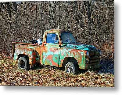 Retired Metal Print by Steve Gass