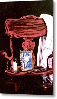 Metal Print featuring the painting Retiring Nurse by Susan Roberts