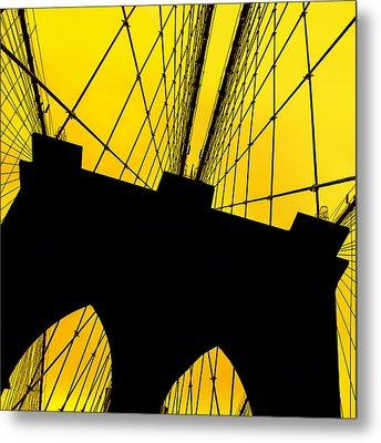 Retro Arches Metal Print