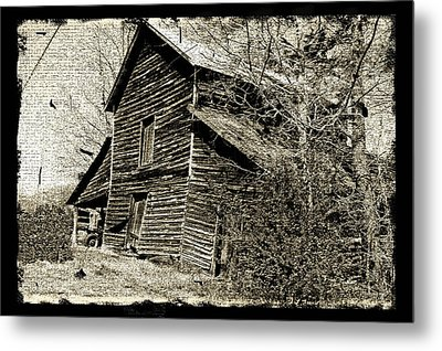 Metal Print featuring the photograph Retro Barn by Larry Bishop