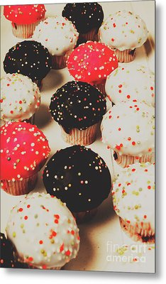 Retro Cake Stand Metal Print by Jorgo Photography - Wall Art Gallery