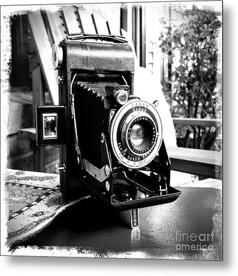 Metal Print featuring the photograph Retro Camera by Daniel Dempster