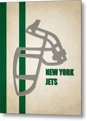 Retro Jets Art Metal Print