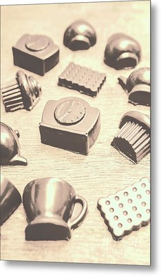 Retro Tea Party Metal Print by Jorgo Photography - Wall Art Gallery