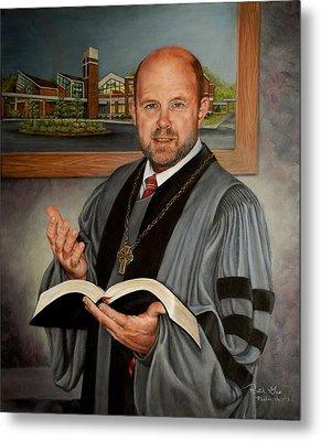 Rev. Jeff Garrison Metal Print