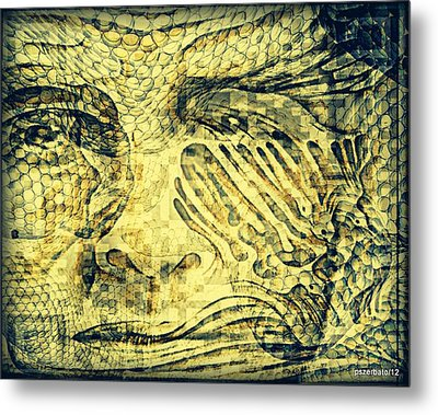 Revealing The Thoughts Metal Print by Paulo Zerbato