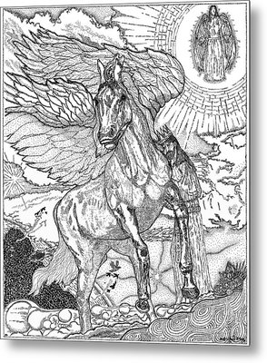 Revelation   Return Of The King Metal Print