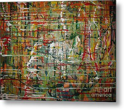 Metal Print featuring the painting Revelation by Jacqueline Athmann
