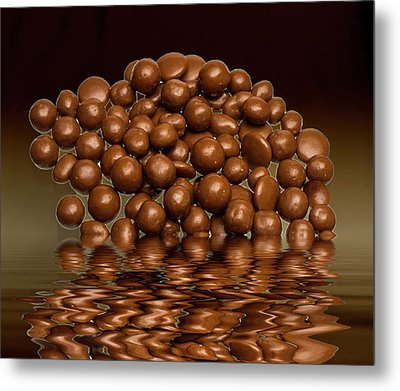 Metal Print featuring the photograph Revels Chocolate Sweets by David French