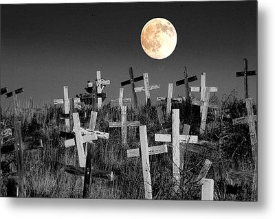 Reverent Moonlight.... Metal Print by Al  Swasey