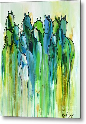 Metal Print featuring the painting Revive by Cher Devereaux