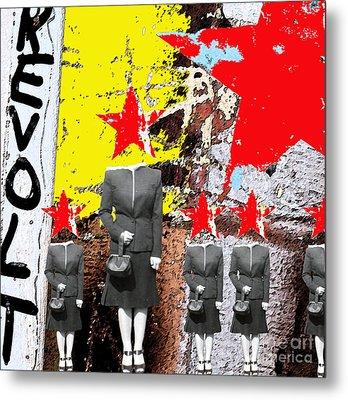 Revolt Metal Print by Gary Everson