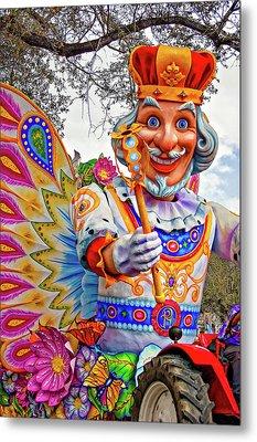 Rex Rides In New Orleans Metal Print by Steve Harrington