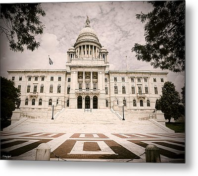 Rhode Island State House Metal Print