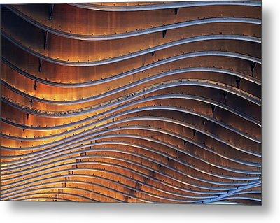Ribbons Of Steel Metal Print