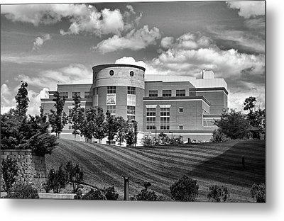 Rice Library II B W Metal Print