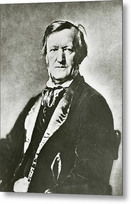 Richard Wagner Metal Print by Unknown