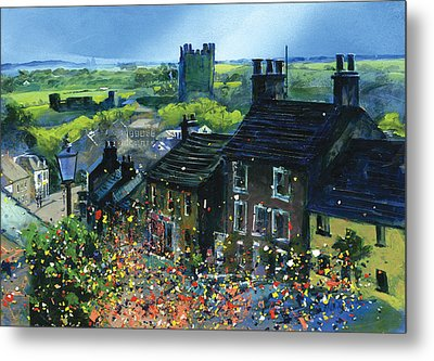 Richmond Carnival In Frenchgate Metal Print by Neil McBride
