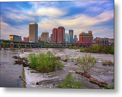 Metal Print featuring the photograph Richmond Skyline by Rick Berk