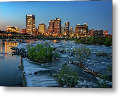 Metal Print featuring the photograph Richmond Twilight by Rick Berk