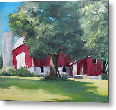 Rich's Barn Metal Print