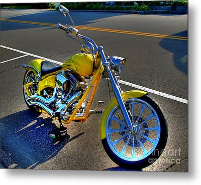 Metal Print featuring the photograph Ride Hard... by Adrian LaRoque