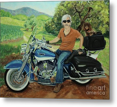 Ride In The Birksire's Metal Print