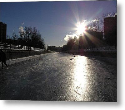 Rideau Canal Metal Print by Richard Mitchell