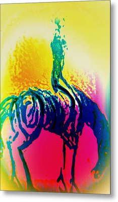 You May Think That You Don't Need Anyone But You Never Ride Alone  Metal Print by Hilde Widerberg