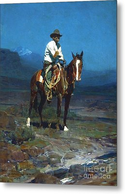 Rider Of The Sms Metal Print by Roberto Prusso