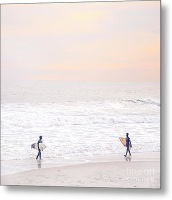 Riders Of The Sea Metal Print