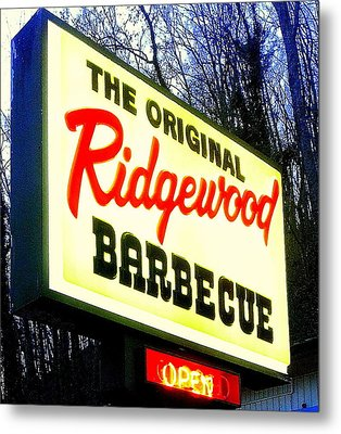 Ridgewood Barbecue Metal Print