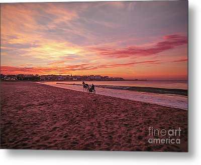 Riding Home Metal Print by Roy McPeak