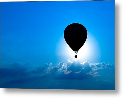 Riding The Clouds Metal Print by Todd Klassy