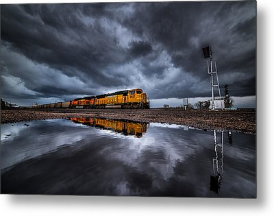 Riding The Storm Out Metal Print by Darren  White