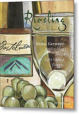 Riesling Wine Metal Print by Debbie DeWitt