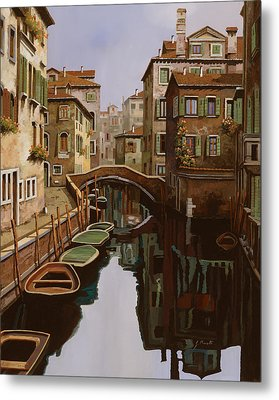 Riflesso Scuro Metal Print by Guido Borelli