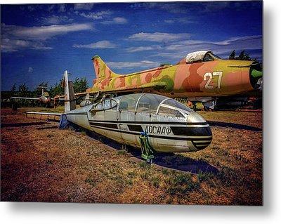 Riga Aviation Museum Metal Print