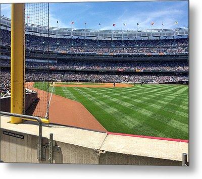 Yankee Stadium_right Field2 Metal Print by All Island Promos
