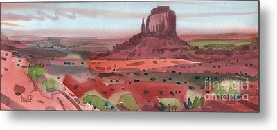 Right Mitten Panorama Metal Print by Donald Maier