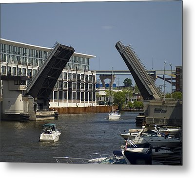 Metal Print featuring the photograph Right Of Way by Peter Skiba