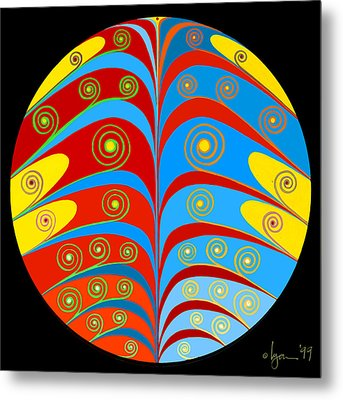 Right Place Metal Print by Angela Treat Lyon