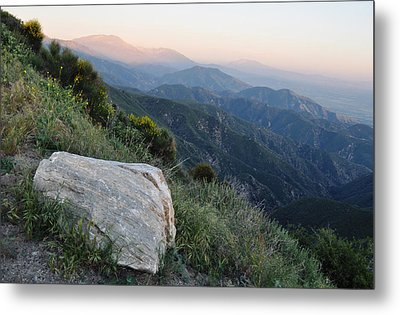 Rim O' The World National Scenic Byway Metal Print by Kyle Hanson