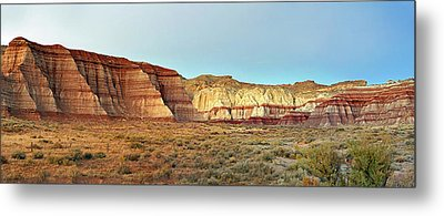 Rimrocks At Dusk Metal Print
