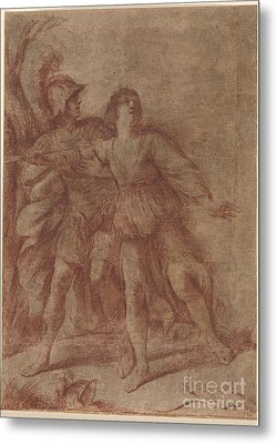 Rinaldo Stopping Armida From Suicide Metal Print by MotionAge Designs