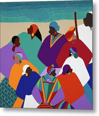 Ring Shout Gullah Islands Metal Print