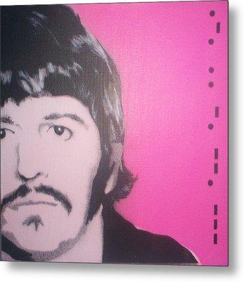 Ringo Starr Metal Print by Gary Hogben