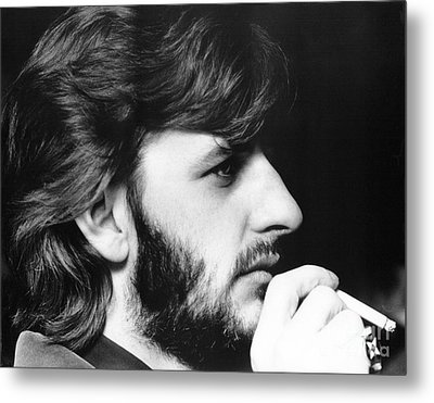 Ringo Starr In 1972 Metal Print