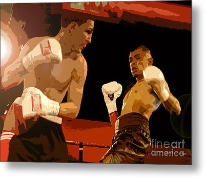 Ringside Metal Print by David Lee Thompson